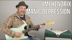 Jimi Hendrix Manic Depression Guitar Lesson