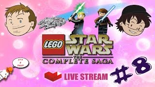 Two Gay Guys Play - LEGO Star Wars The Complete Saga LIVE #08