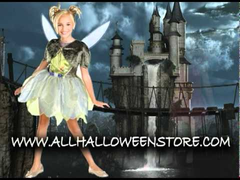 Tinkerbell Costume: The perfect Halloween costume for your little girl and the adult female
