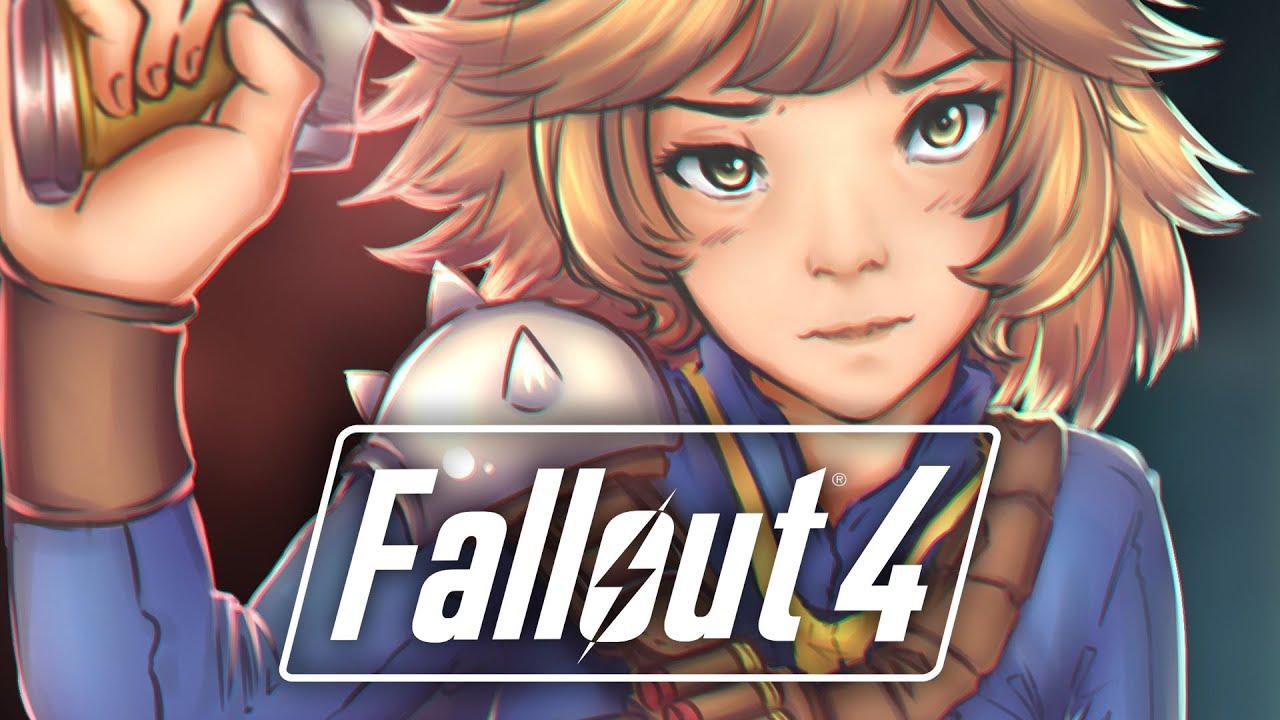 fallout 4 hd порно