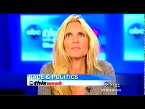 """Ann Coulter- 'We Only Owe Black People Not Gays, Women or Immigrants Civil Rights"""""""