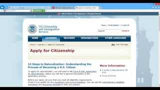 How Apply Citizenship Part