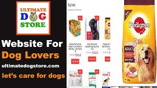 Ultimate Dog Store For All Dog Lovers : Dog Website : TUC