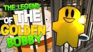 THE LEGEND OF THE GOLDEN BOBBY! | Prison Boss #3 PSVR Gameplay