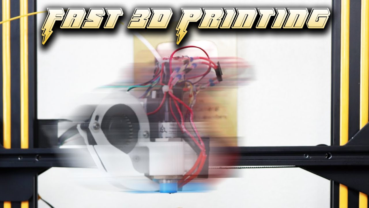 How Fast Can You 3D Print?
