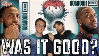 "LOGIC'S ""HOMICIDE"" FEAT. EMINEM REACTION #MALLORYBROS"