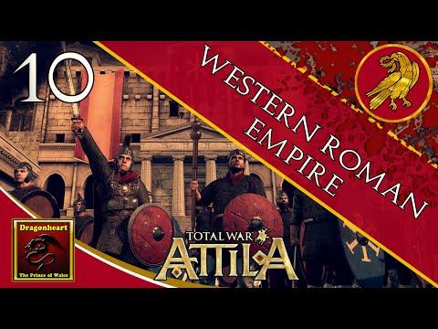 (#10) Western Roman Empire | Total War: Attila | Legendary | A Minor Victory