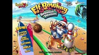 Elf Bowling gameplay 100 as kihívás