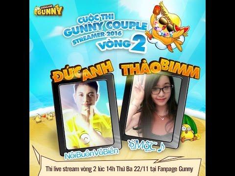 Cuộc thi live stream lúc 14h - 15h ngày mai  trên face Gunny. Mọi ng dành thời gian xem nha Cám ơn!