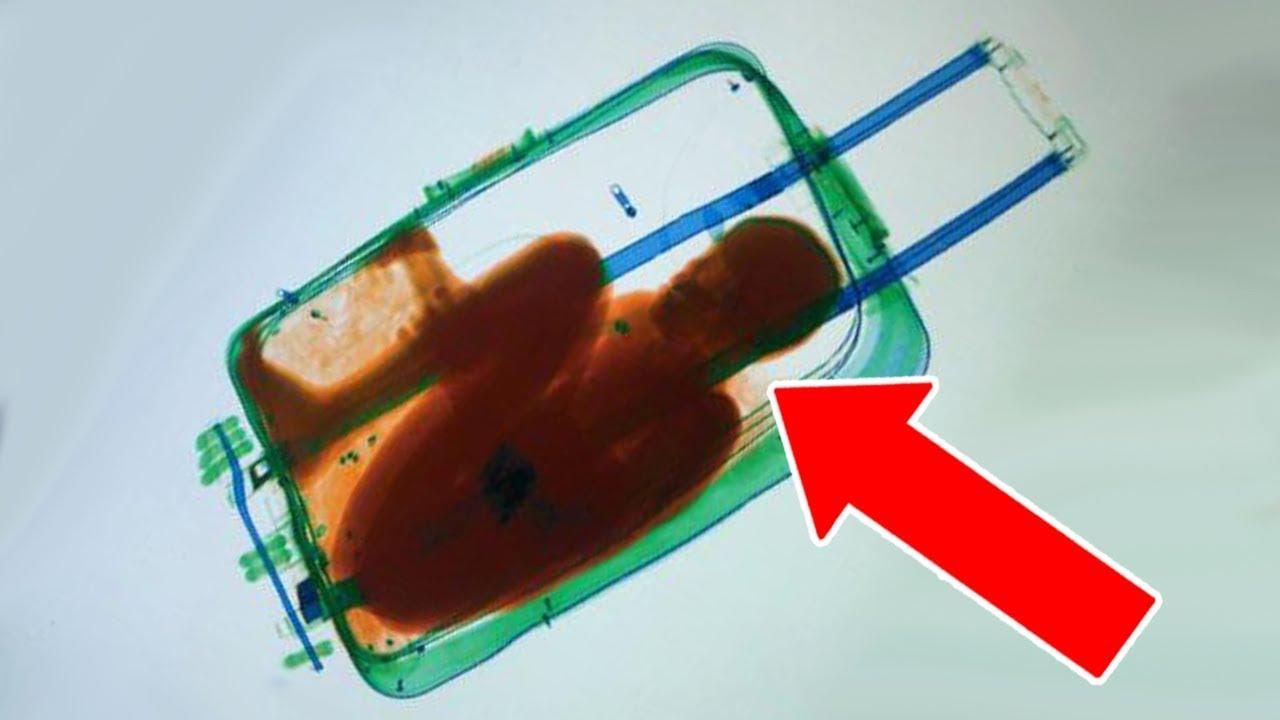 10 Cosas más extrañas encontradas en maletas