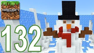 Minecraft: PE - Gameplay Walkthrough Part 132 - Find The Button: Christmas Edition (iOS, Android)