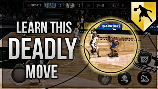 LEARN THIS ANKLE BREAKING MOVE! NBA LIVE MOBILE 18