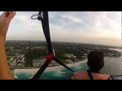 Paramotor Bahamas Flight over Paradise Island, Ocean Club Estates.