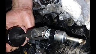 Бедная смесь. Ошибка P0171. FSI. Шкода фабия замена бензиновой форсунки.