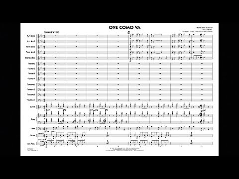 Oye Como Va by Tito Puente/arr. Michael Philip Mossman