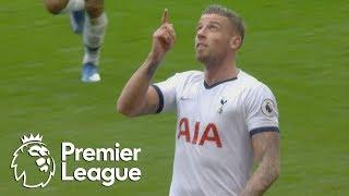 Toby Alderweireld  powers Spurs level with Aston Villa  Premier League  NBC Sports