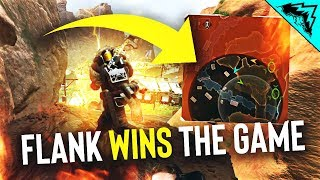 This Flank WON the Game! - Apex Legends