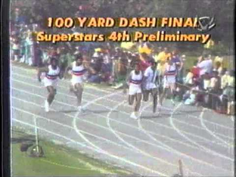 1978 Superstars Preliminary 4 - 100 Yard Dash