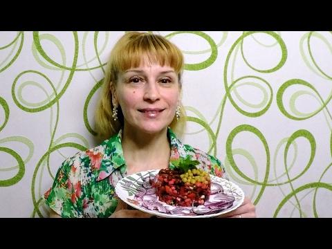 Винегрет - готовим простой рецепт салата с соусом быстро и вкусно