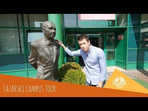 Lazarski University Campus Tour