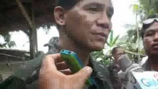 Trento PNP Attack by 250 rebels CNN-Agusan davao media