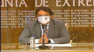 Junta valora que incidencia en Extremadura está por debajo de media nacional