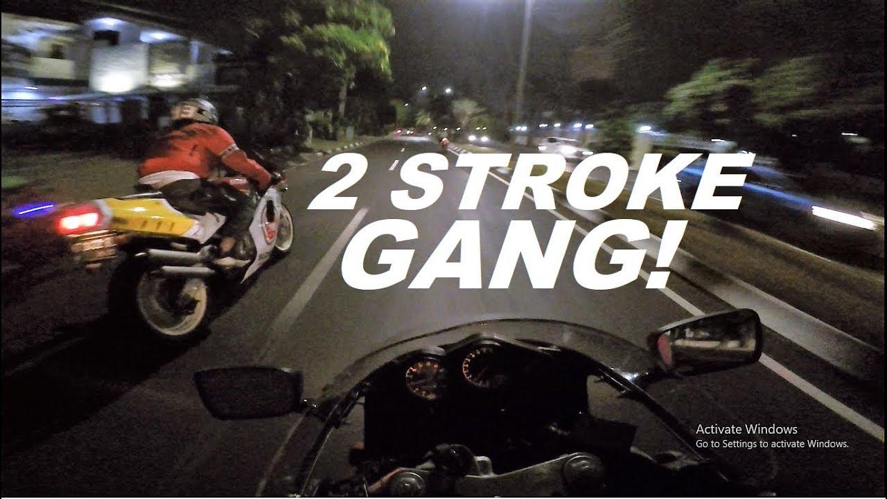 MOTOR ANDY LAU DI PAKE NGEBUT - OLD GENESIS NIGHT RIDE #VLOG 117