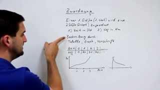 Zuordnungen, Werte, Größen, Graphen, Tabelle, Vorschrift   Mathe by Daniel Jung