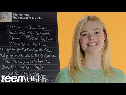 Elle Fanning Creates the Playlist of Her Life  Teen Vogue