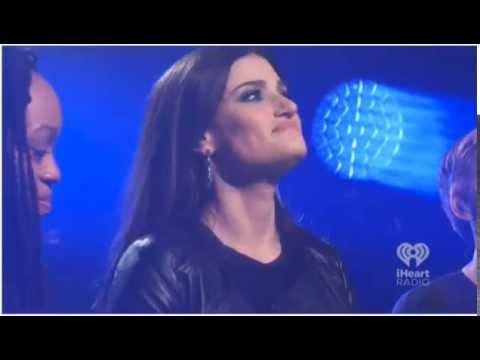 Idina Menzel sings Let It Go live
