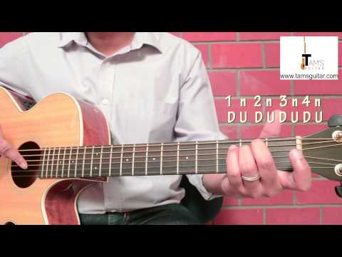 Easy 4 chord song for beginners-Zombie guitar lesson -Easy 4 chord song-(www.tamsguitar)
