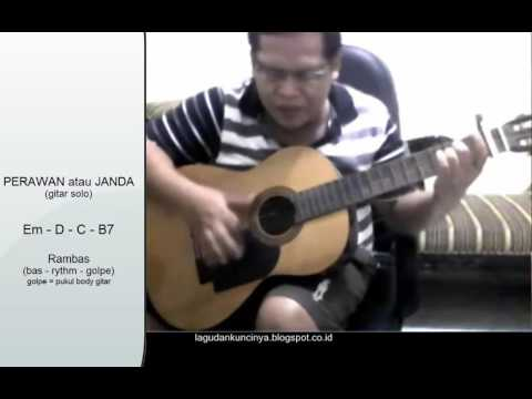 belajar gitar otodidak - perawan atau janda cita citata dangdut belajar cover gitar solo akustik
