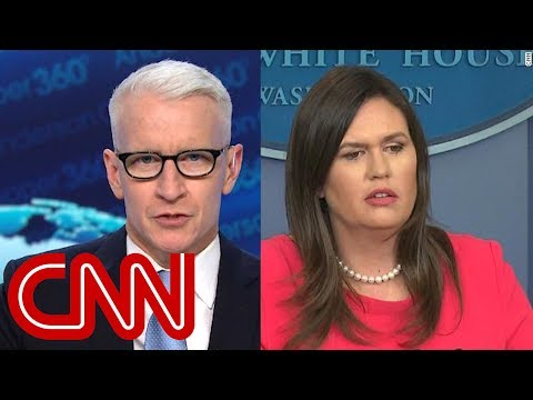 Anderson Cooper: Sarah Sanders is wrong