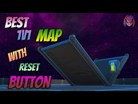 Best 1v1 Map With Reset Button, Background Changes,More - Fortnite Creative/1v1 Map - [RESET BUTTON]