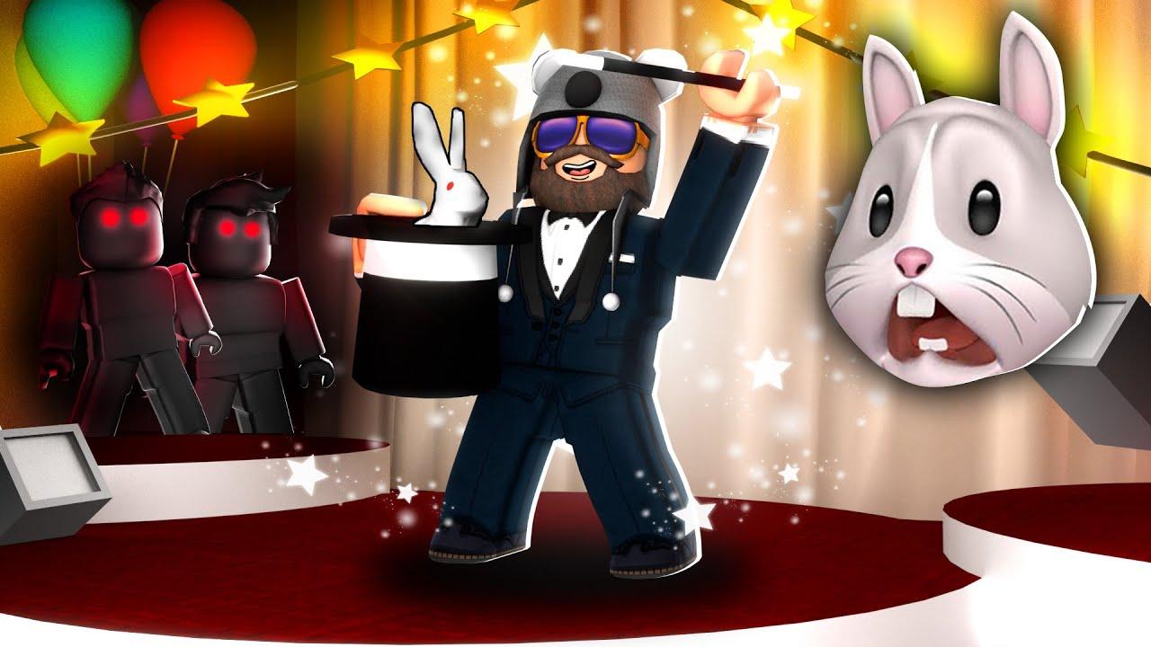 ROBLOX MAGIC SHOW [Story]..