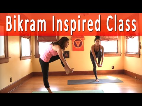 Bikram Yoga Inspired Yoga Class with Maggie Grove (1 hour)