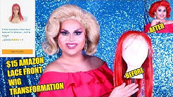$15 AMAZON LACE FRONT WIG TRANSFORMATION CHALLENGE | JAYMES MANSFIELD