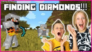FINDING DIAMONDS WITH RONALD!!!