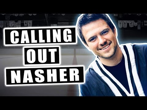 CALLING OUT NASHER on Hockey Trick Shots