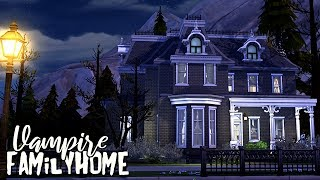 Vampire Family Home || The Sims 4: Speed Build