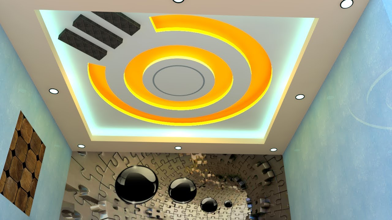 Simple ceiling design for small living room and bedroom - Simple ceiling design for living room ...