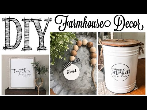DIY Farmhouse Decor |  3 PROJECTS!