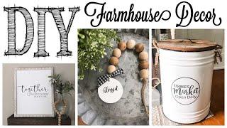 DIY Farmhouse Decor |  3 PROJECTS!