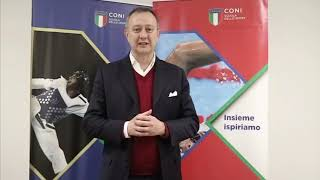 """Francesco Mantegazzini al Seminario """"Sport e Innovazione"""""""