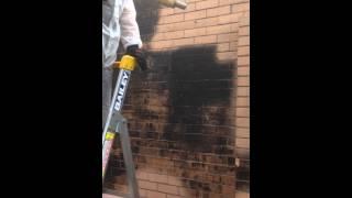 Garnet Blasting - Steamatic Geelong
