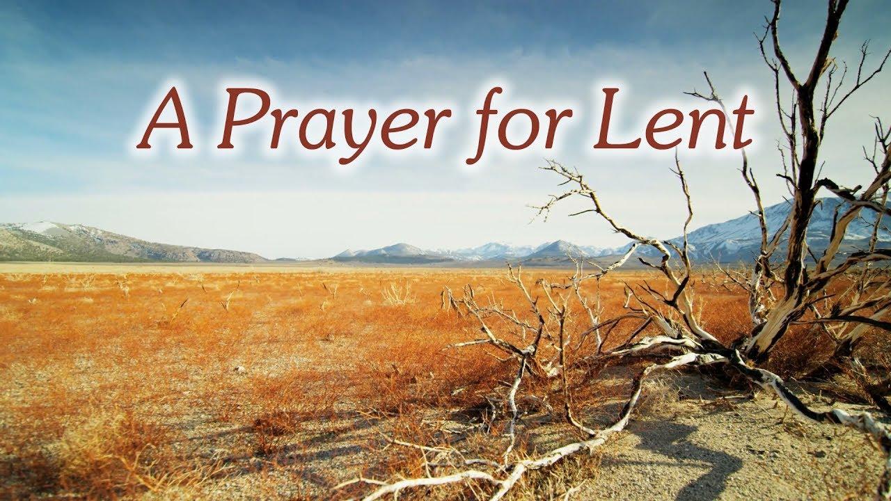 Prayer for Lent in 2019