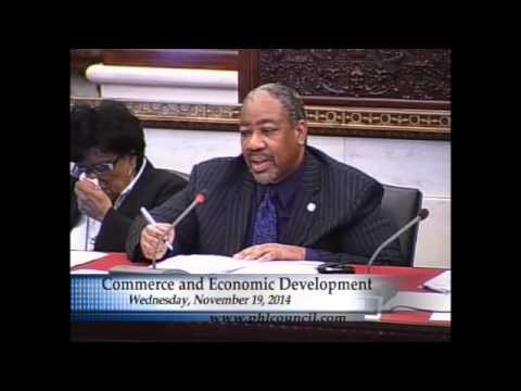 Nov. 19, 2014: Commerce & Economic Development Committee Hearing