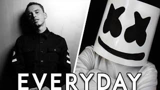 Logic Marshmello Everyday Lyrics Lyric Video