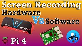 Screen Capture/ Recording. Raspberry Pi 4. Hardware Vs Software. screenshot 2