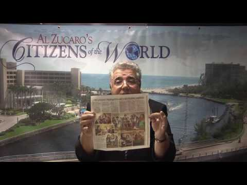 Going Over Next Year's Agenda with Al Zucaro on Citizens of the World